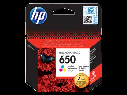 Oryginalny tusz HP 650 (CZ102AE) trójkolorowy do HP Deskjet Ink Advantage 1015 1515 2515 3515 3545 4515 4645 - 6.5ml