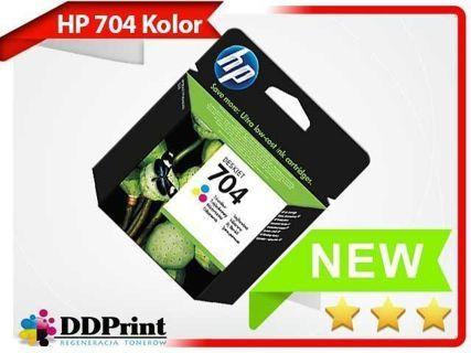 Oryginalny tusz HP 704 Trójkolorowy (CN693AE) do HP Deskjet Ink Advantage 2010 / 2060 - 5,5ml