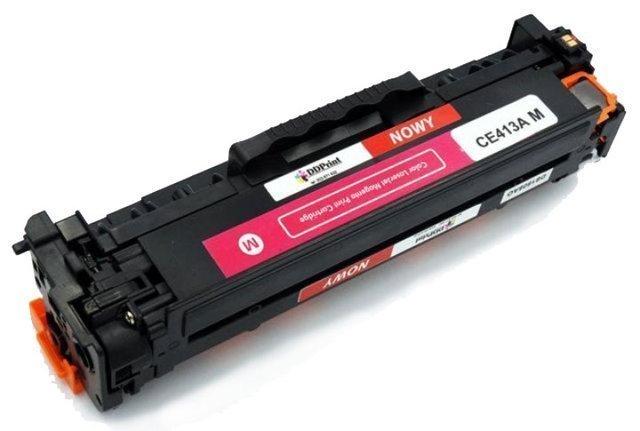 Zgodny z CE413A Toner do HP LaserJet M351 M375 M451 M475 Magenta 2,6K DD-Print DD-413AMN