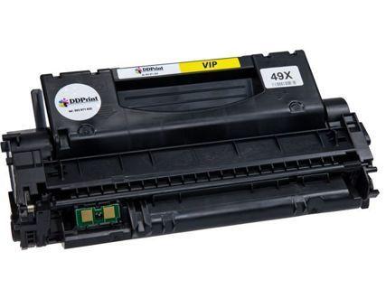 Zgodny z hp Q5949X toner 49X do HP LaserJet 1320n 1320dn 3392 / 7000 stron VIP Zamiennik DD-Print 49XDV
