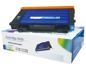 Toner Cartridge Web Cyan Samsung CLP 500 zamiennik CLP-500D5C
