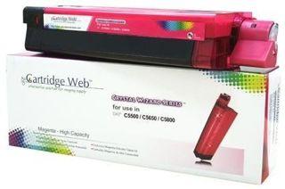 Toner Cartridge Web Magenta OKI C5650 zamiennik 43872306