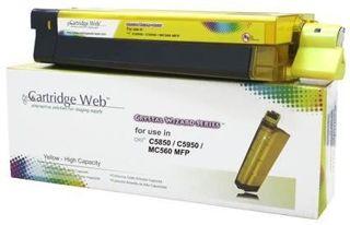 Toner Cartridge Web Yellow OKI C5850 zamiennik 43865721