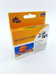 Tusz Wox Cyan EPSON T0712 (T0892) zamiennik C13T07124011
