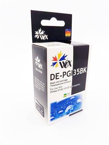 Tusz Wox Czarny Canon PGI 35BK z chipem zamiennik 1509B001