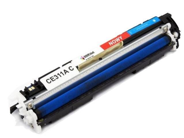 Zgodny z CE311A Toner do HP CP1025 M175 M275 Cyan 1,2K DD-Print DD-H311ACN