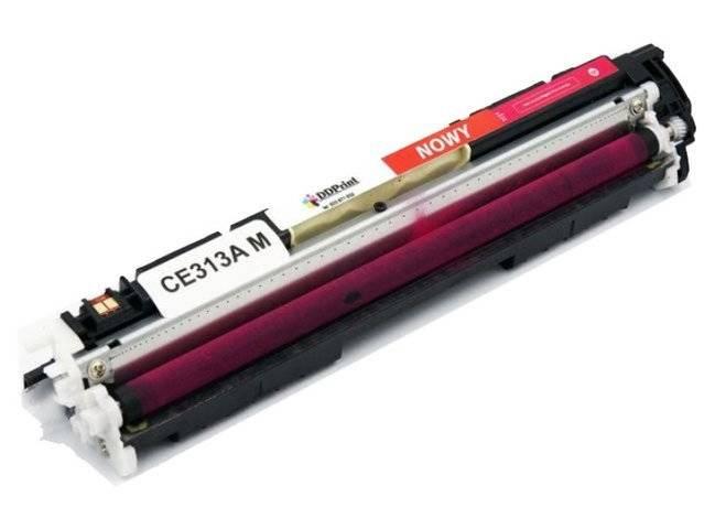 Zgodny z CE313A Toner do HP LaserJet CP1025 M175 M275 Magenta 1,2K DD-Print DD-H313AMN